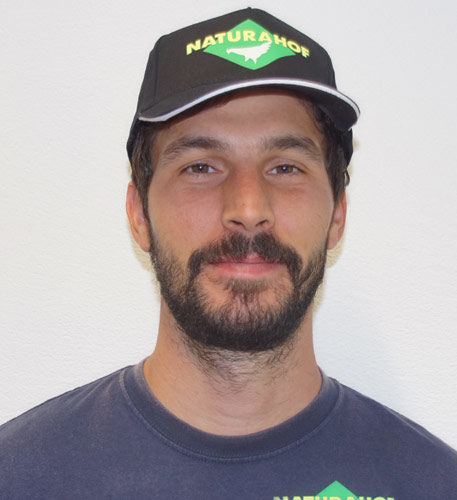 Daniel Graziadei, Fahrer bei der Naturahof AG in Frümsen
