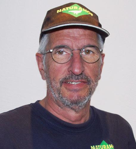 Peter Graziadei, Fahrer bei der Naturahof AG in Frümsen
